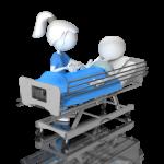 nurse_helping_stick_figure_in_hospital_bed_400_clr_13646