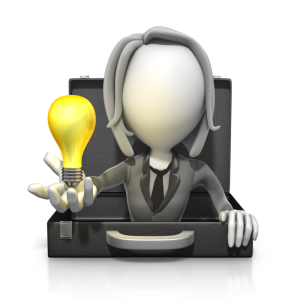 Idea_woman_business_figure_pop_out_briefcase_lightbulb_800_clr_18715